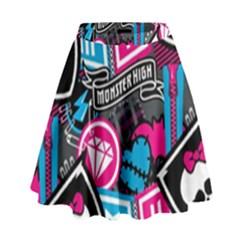 Monster High High Waist Skirt
