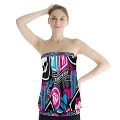 Monster High Strapless Top