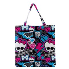 Monster High 03 Grocery Tote Bag