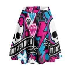 Monster High 03 High Waist Skirt