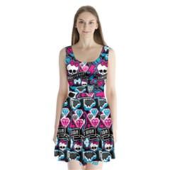 Monster High 03 Split Back Mini Dress