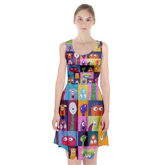Monster Quilt Racerback Midi Dress