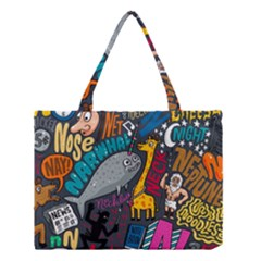 N Pattern Medium Tote Bag