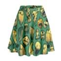Pattern Linnch High Waist Skirt View1