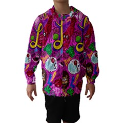 Pattern Monsters Hooded Wind Breaker (Kids)