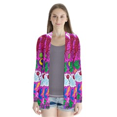 Pattern Monsters Drape Collar Cardigan