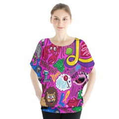 Pattern Monsters Blouse