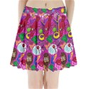 Pattern Monsters Pleated Mini Skirt View1