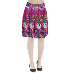 Pattern Monsters Pleated Skirt