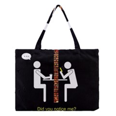 Pict Man Medium Tote Bag
