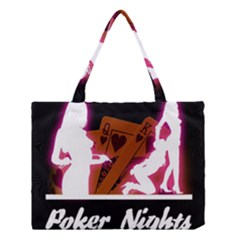 Poker Night Medium Tote Bag
