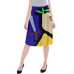 Warrior Midi Beach Skirt