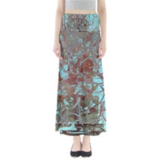 Urban Graffiti Grunge Look Maxi Skirts