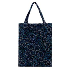 Blue abstract decor Classic Tote Bag