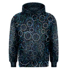 Blue abstract decor Men s Pullover Hoodie