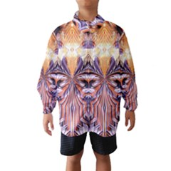 Fire Goddess Abstract Modern Digital Art  Wind Breaker (Kids)