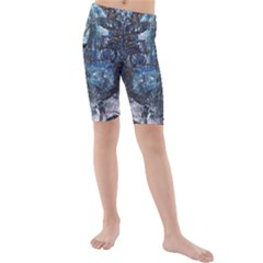 Lost In The Mirror  Kids  Mid Length Swim Shorts