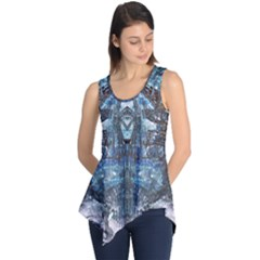 Lost In The Mirror  Sleeveless Tunic