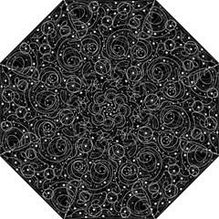 Black and white magic Hook Handle Umbrellas (Medium)