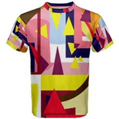 Colorful abstraction Men s Cotton Tee