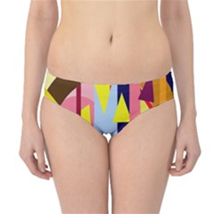 Colorful abstraction Hipster Bikini Bottoms