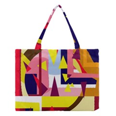 Colorful abstraction Medium Tote Bag