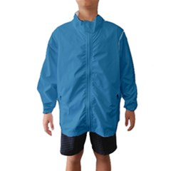 Pelorous Blue Colour Wind Breaker (Kids)
