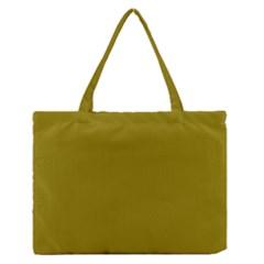 Olive Colour Medium Zipper Tote Bag