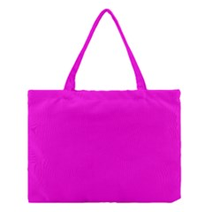 Magenta Colour Medium Tote Bag