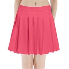 Lovely Pink Colour Pleated Mini Skirt