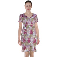 Decor Short Sleeve Nightdress