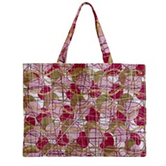 Decor Medium Zipper Tote Bag