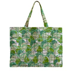 Gray decorative abstraction Medium Tote Bag