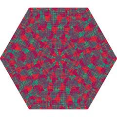 Decorative abstract art Mini Folding Umbrellas