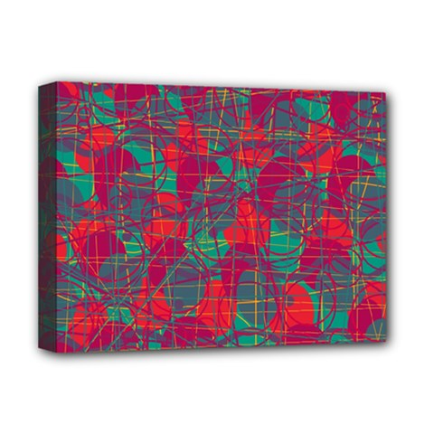 Decorative abstract art Deluxe Canvas 16  x 12