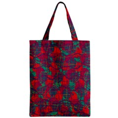 Decorative abstract art Zipper Classic Tote Bag
