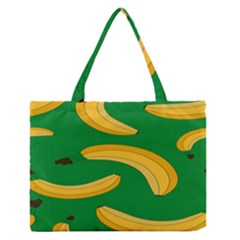 Banana Fruit Pattern Medium Zipper Tote Bag