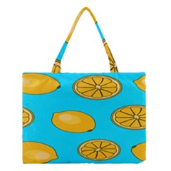 Lemon Fruit Pattern Medium Tote Bag