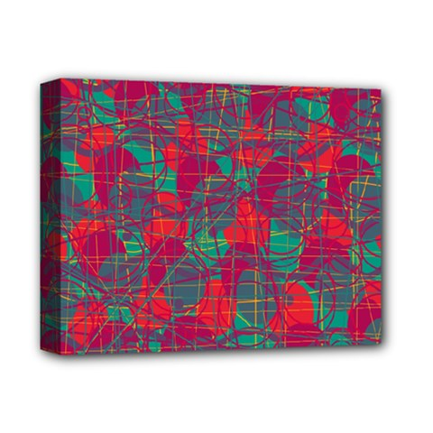 Decorative abstract art Deluxe Canvas 14  x 11