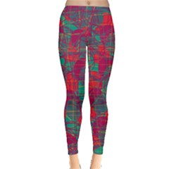Decorative abstract art Leggings
