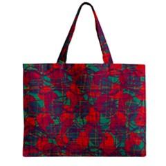 Decorative abstract art Zipper Mini Tote Bag