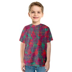 Decorative abstract art Kids  Sport Mesh Tee