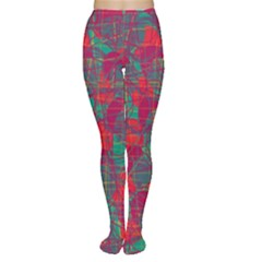 Decorative abstract art Women s Tights