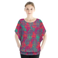 Decorative abstract art Blouse