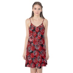 Red abstract decor Camis Nightgown