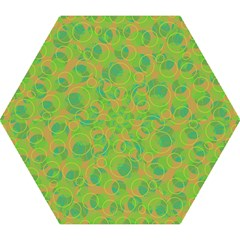 Green decorative art Mini Folding Umbrellas