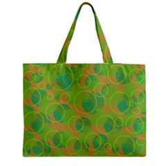 Green Decorative Art Medium Tote Bag