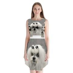 Maltese Sleeveless Chiffon Dress