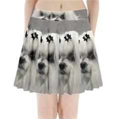 Maltese Pleated Mini Skirt