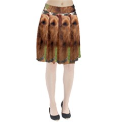 Irish Terrier Pleated Skirt